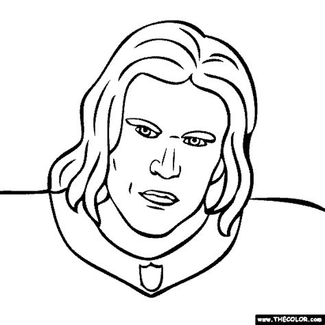 green bay packers aaron rodgers coloring page sketch