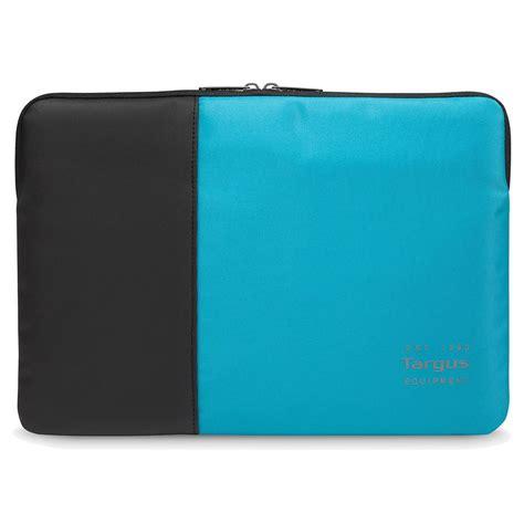 pulse 15 6 quot laptop sleeve black atoll blue