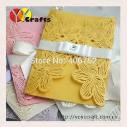 aliexpress buy papercrafts supplier bulk wholesale wedding invitation card and