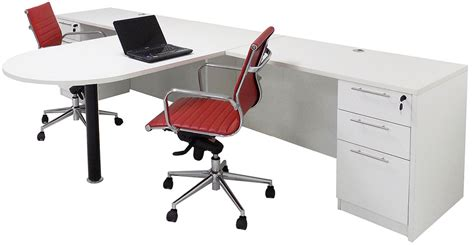 two person office desk white 2 person shared office desk