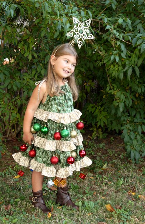 ready dressed christmas tree hack tree costume call ajaire