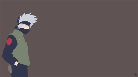 wallpaper anime minimalist minimalist wallpaper kakashi naruto shippuden by