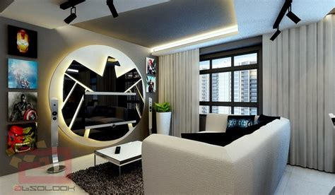 fandom themed bedroom the classiest avengers themed apartment nerdist