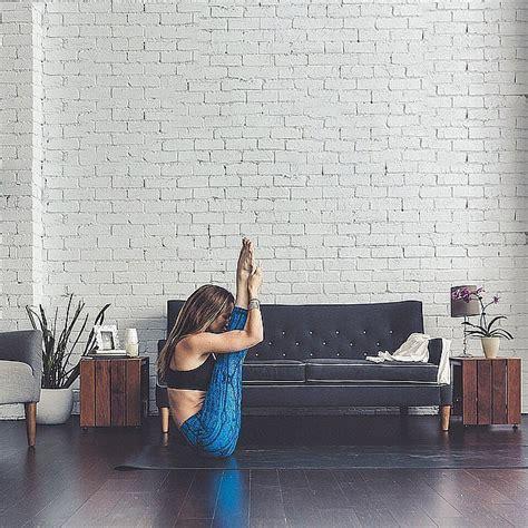 living room yoga source instagram user lululemonausnz yoga on location