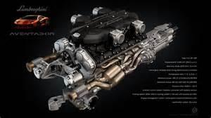 V12 Lamborghini Engine Lamborghini Aventador V12 Engine By Dangeruss On Deviantart