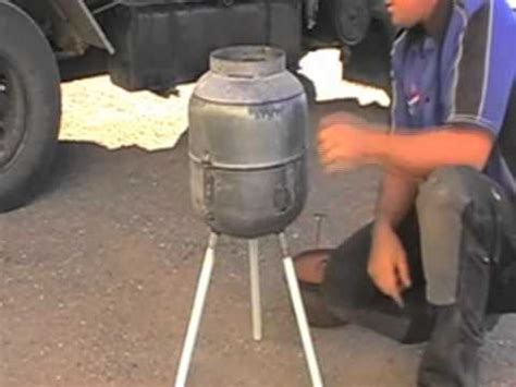 bottle pit how to make a gas bottle bbq part 2