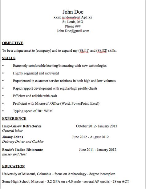entry level resume exles customer service critique needed resume for entry level customer service