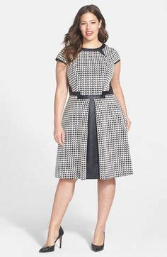 Midi Dress Houndstooth W7274udi D 1000 images about shift dress patterns on