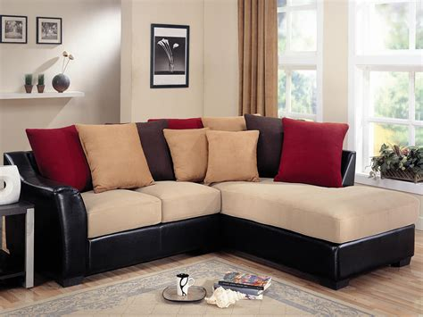 beige leather sectional decorating ideas black and beige sectional sofa design ideas for
