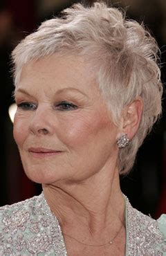 judi dench hairstyle front and back of head back of head judi dench photo short hairstyle 2013