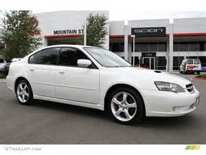 2006 Subaru Legacy 2 5 Gt Limited 2006 Satin White Pearl Subaru Legacy 2 5 Gt Limited Sedan