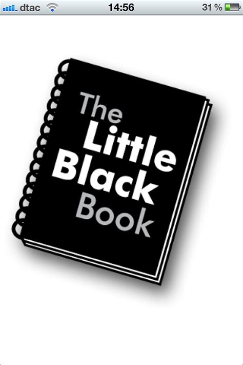 the little black book the little black book it genies