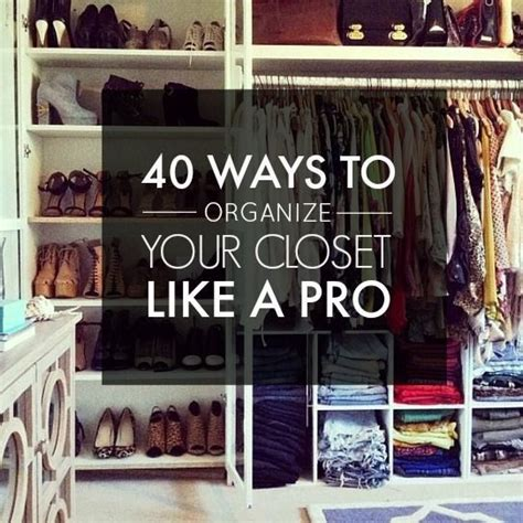 organize  closet  matter  small