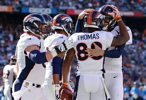 broncos and chargers score broncos vs chargers highlights score and more