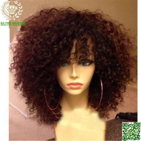 short haircuts kinky curly hair short human hair wigs curly virgin peruvian remy hair full