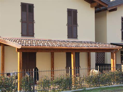coperture terrazzi in legno porticati in legno parma reggio emilia portico tettoia