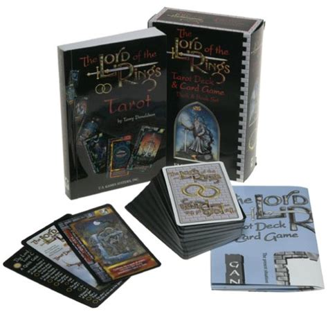 tarot on earth books the lord of the rings tarot deck card deck book