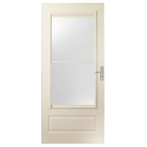 Emco Door by Emco 32 In X 80 In 400 Series Almond Self Storing
