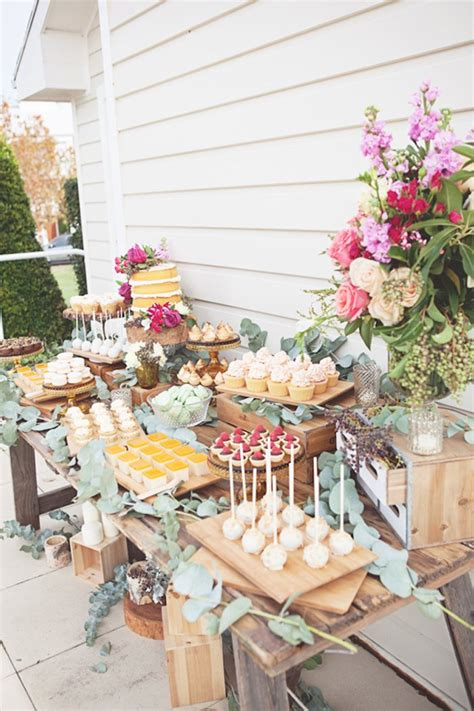 diy rustic wedding shower ideas kara s ideas rustic bridal shower via kara s