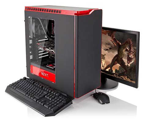 Vibox Wildfire Desktop Gaming Pc Review Tech Advisor Gaming Desk Tops