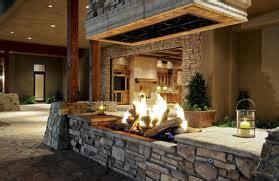 Outdoor Open Fireplace design guide for outdoor firplaces and firepits garden