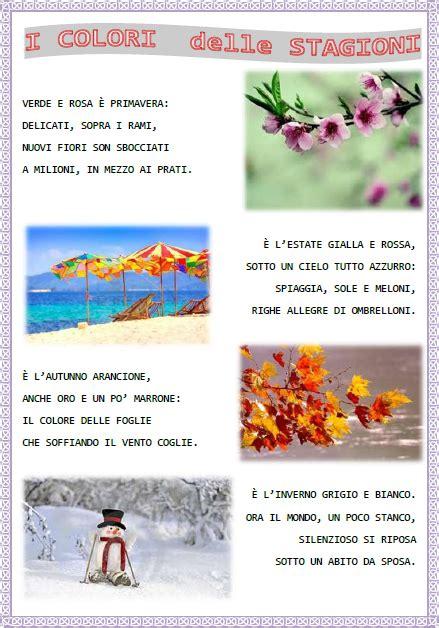 stagioni testo filastrocca sulle stagioni italian 2