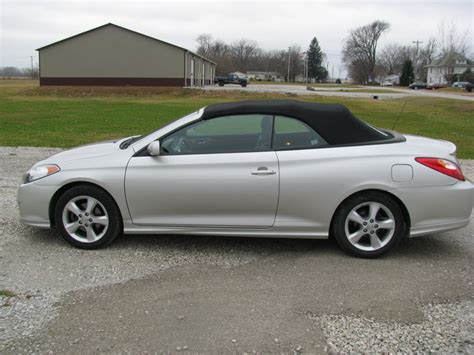 2006 Toyota Camry Solara Convertible 2006 Toyota Camry Solara Convertible Sle For Sale In