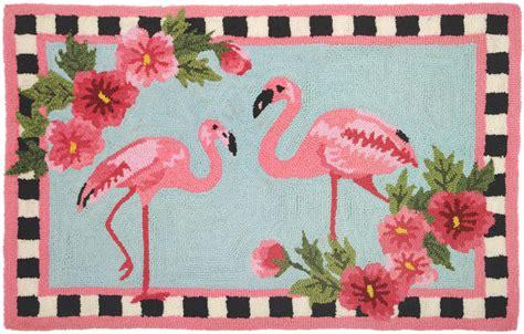 flamingo rug flirty flamingos rug