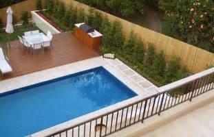 pools inspiration urban escape landscape contractors