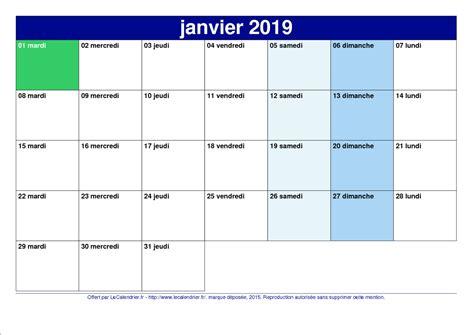 Calendrier 2019 Pdf Calendrier 2019 Pdf