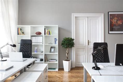 white home office decorating a black white office ideas inspiration