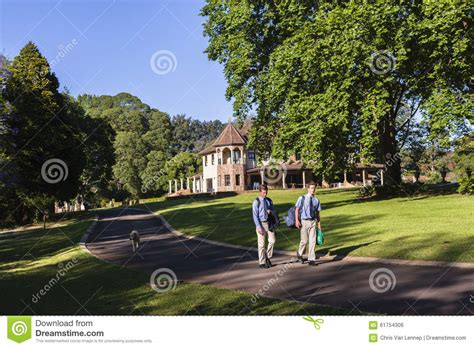 Walk Home by Boys Walking Home Stock Photo Image 61754306