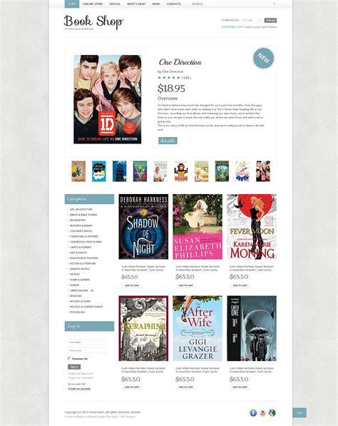 book shop virtuemart template 40866