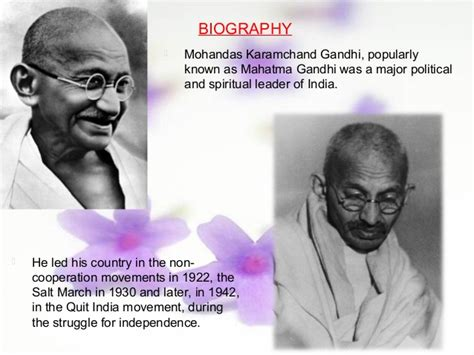gandhi biography powerpoint mahatma gandhi leadership is all about commonsense ppt