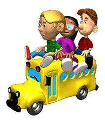 imagenes buses escolares animados gifs animados de autobuses escolares gifmania