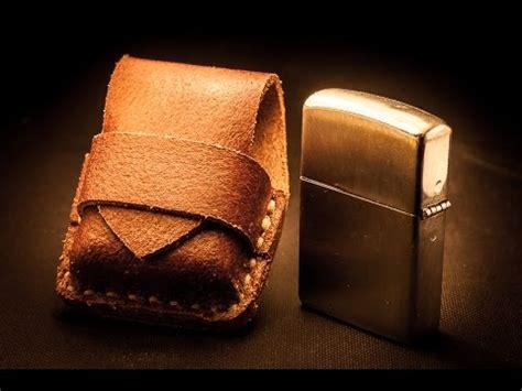 Zaskia Zippo Free Belt formed leather zippo belt pouch