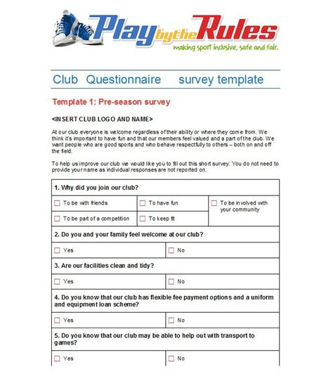questionnaire layout template 30 questionnaire templates word template lab