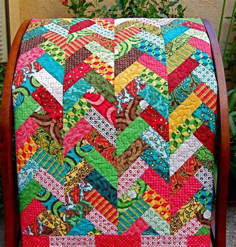 Quilt Pattern Herringbone Quilt By At Golden Gate Quilts
