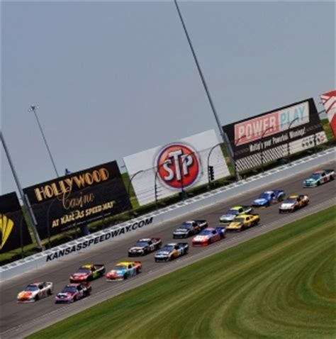 kansas speedway fan walk kansas speedway announces official sports radio partner