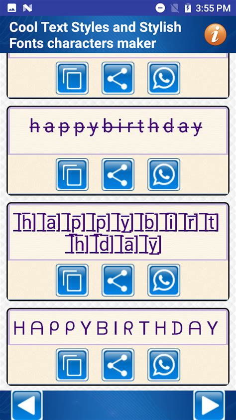 stylish fonts for android cool text styles stylish fonts characters maker android apps on play