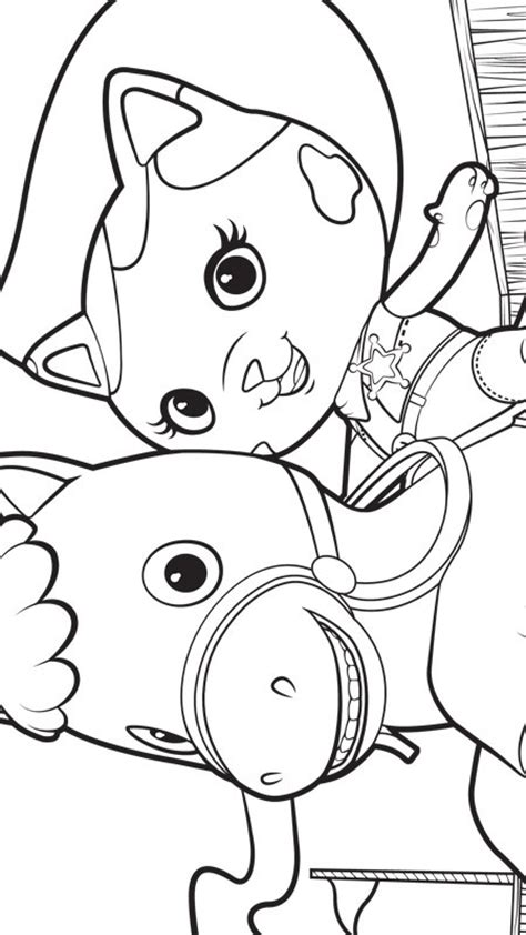 kids n fun com 8 coloring pages of sherrif callie