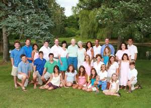 the large family a family portrait photography on cape cod