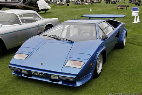 1980 Lamborghini Countach Lp400s 1978 1982 Lamborghini Countach Lp400s Lamborghini