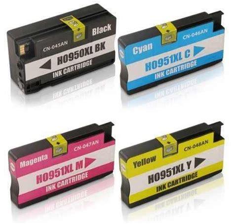 Hp Tinta Color 950xl cartucho tinta hp 950 xl 951 xl novo pro 8100 pro 8600