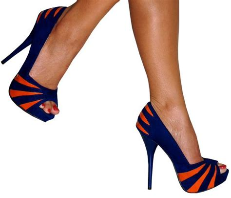broncos high heels 253 best images about orange and blue fashion on