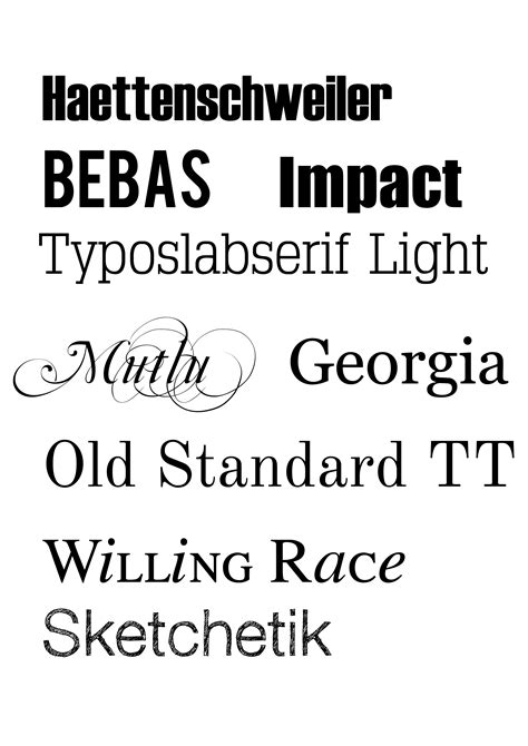 printable letters various fonts 8 best images of type writing fonts printable type text
