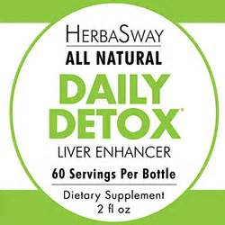Daily Detox Liver Enhancer by Herbasway Formulas Including Green Tea Concentrate