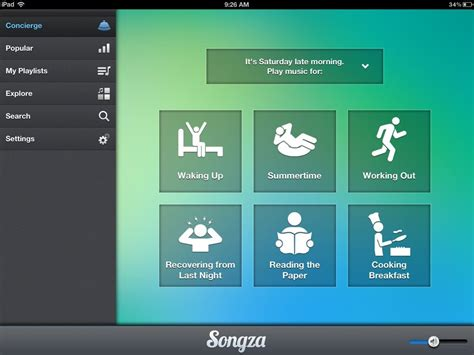 my photo themes apps best free ipad app of the week songza ipad insight