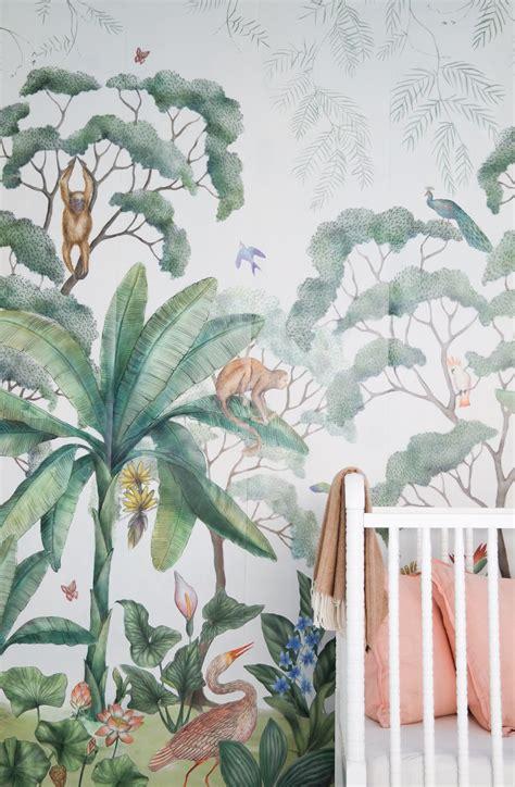 wallpaper for walls jungle theme jungle wallpaper mural wallpaper murals lush and