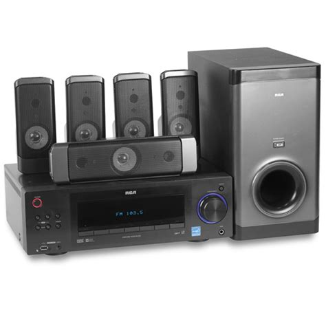 rca rt2911 1000 watt home theater system home theater
